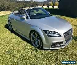 2010 Audi TTS 8J Roadster 2dr S tronic 6sp quattro 2.0T [MY10] Silver Automatic for Sale